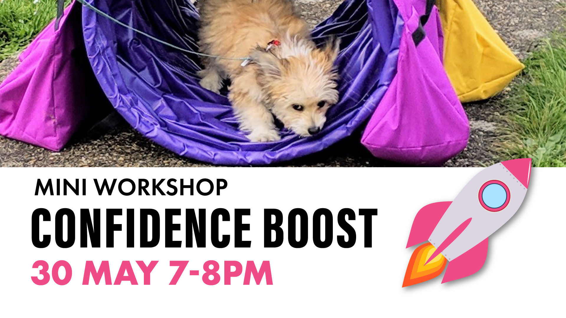 fb event cover mini workshops confidence