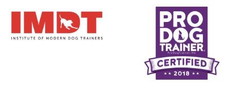 imdt pro dog trainer logos