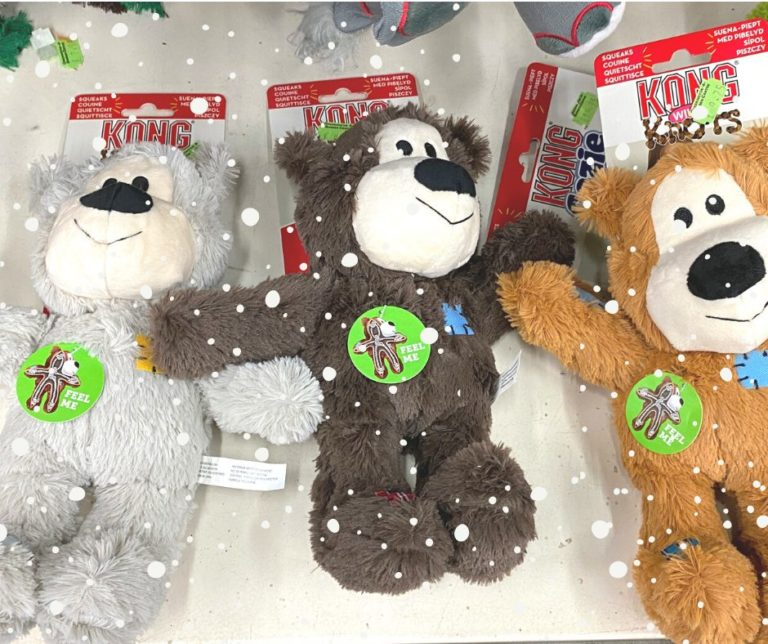 christmas gift ideas for dogs with kong knot bear