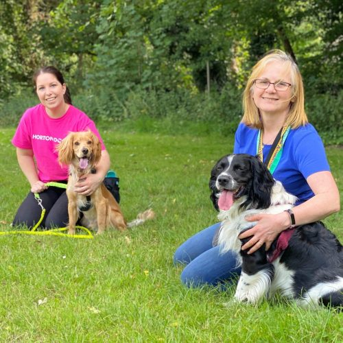 dog trainers cathy tse and karen grindod